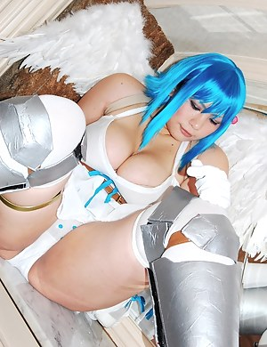 Big Boobs Cosplay Porn Pictures